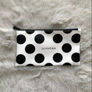 Sephora Bags - Polka Dot Makeup Pouch